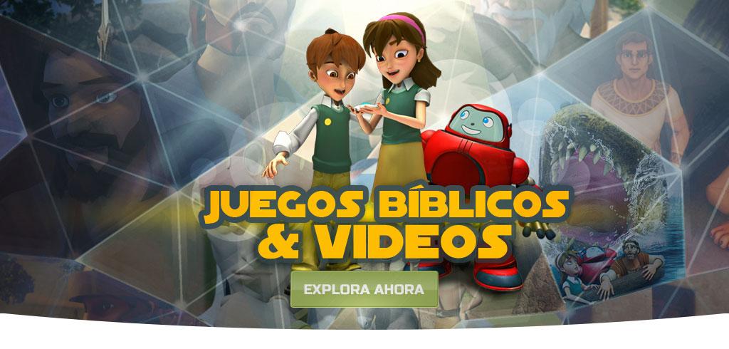 Juegos biblicos y videos