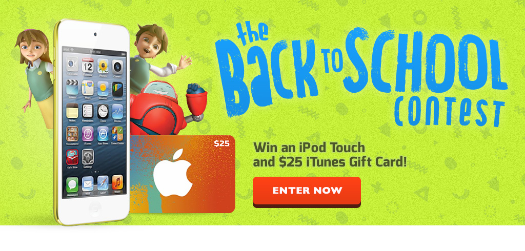 iPad Touch and iTunes Gift Card