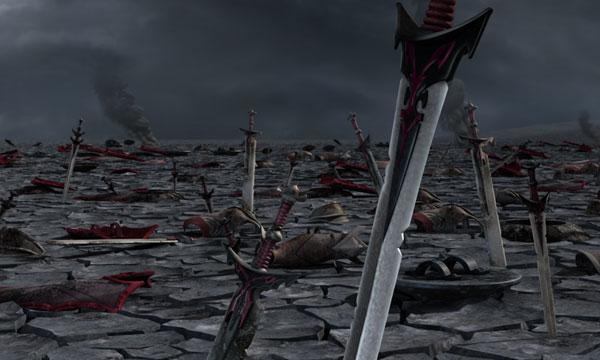 Le champ de bataille d'Harmaguédon