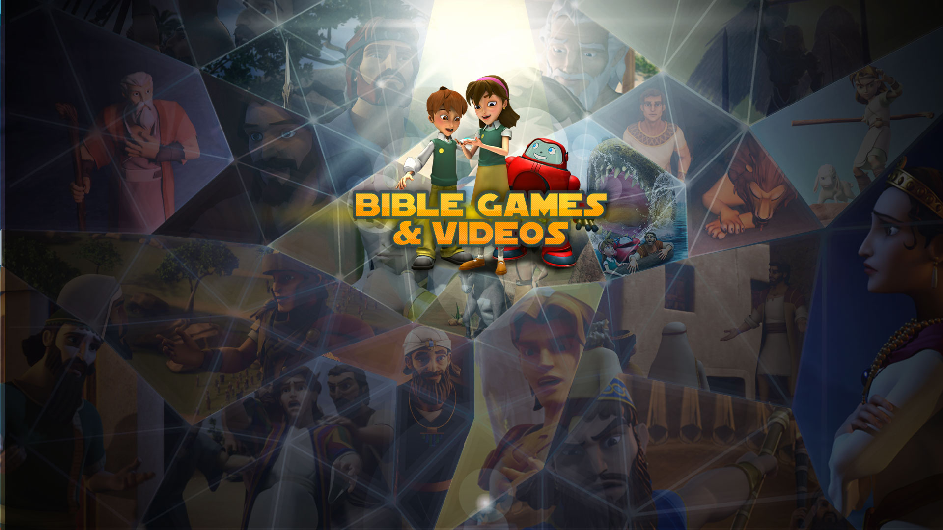 Superbook Kids Site India Free line Games Bible Based