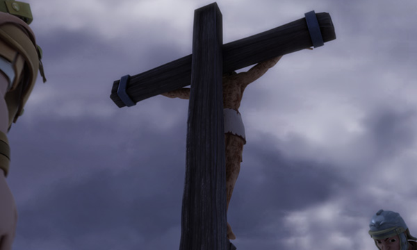 He Is Risen - The Cross