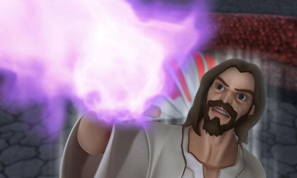 عیسی نبرد میکند