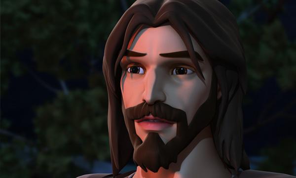 Ele Está Vivo - Jesus no Getsêmani