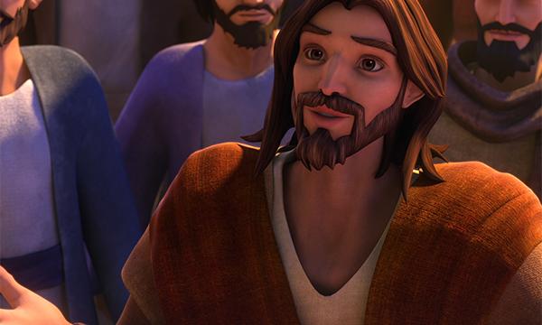 Jesus Sees Zacchaeus