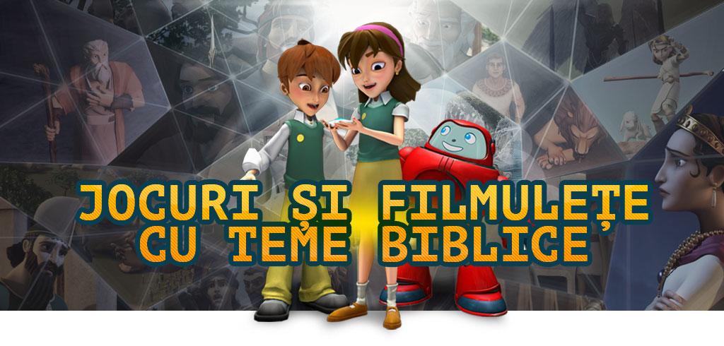 Jocuri și filmulețe cu teme biblice