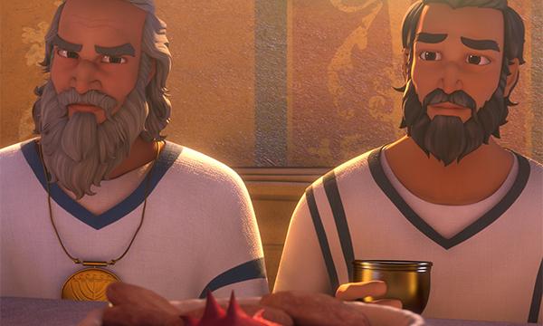 Pharisees Listen to Jesus