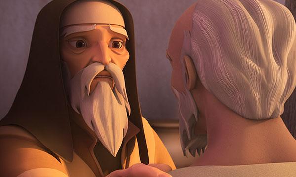 Abraham Asks Eliezer