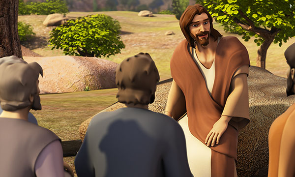 Jesus Tells Parable