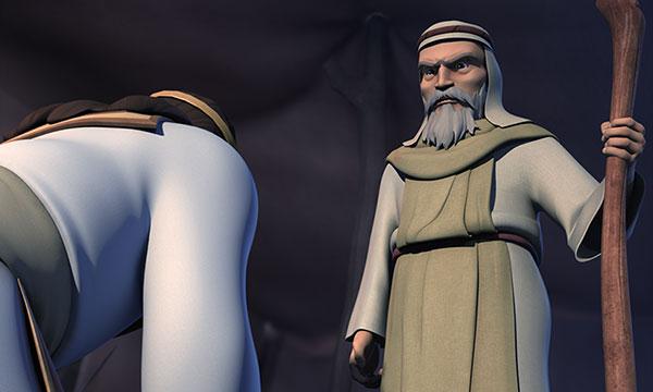 Împăratul Saul pledează