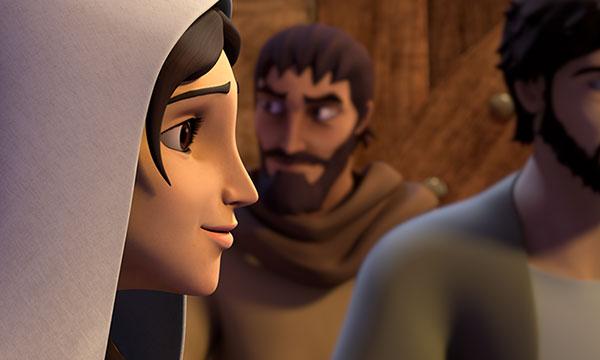 Maria Îl ascultă pe Isus