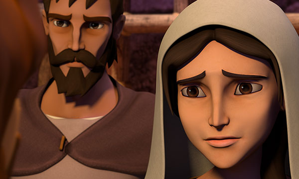 Mary Looks to Jesus