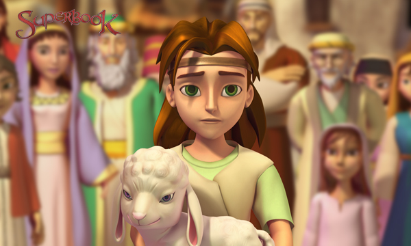 A Giant Adventure - David the Shepherd Boy