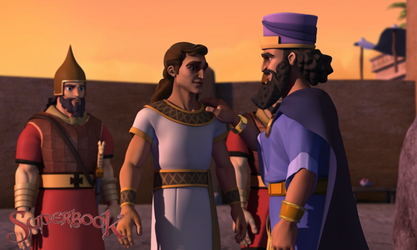 King Darius and Daniel Outside the Den