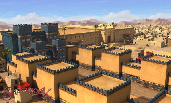 À table, les lions ! – La porte d'Ishtar, à Babylone