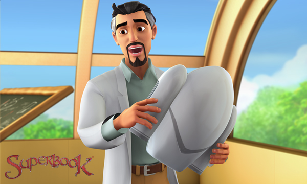Superbook - Professor Quantum Give a Lecture