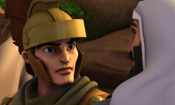 Un traître à table ! – Le capitaine romain écoute