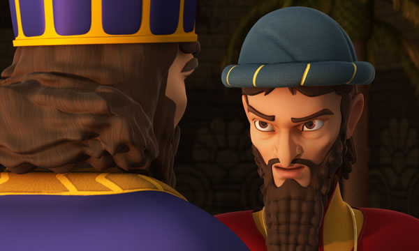 Haman and King