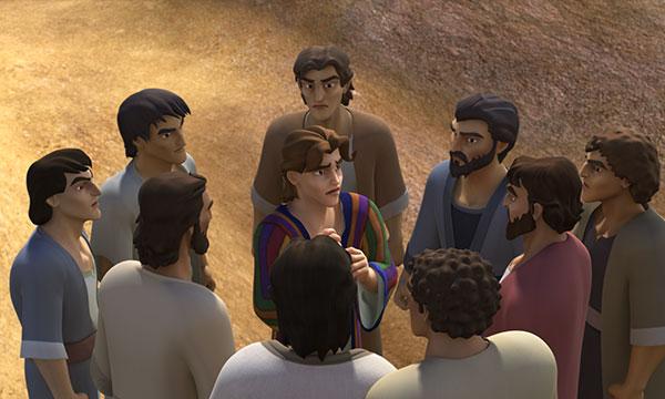 Завистливые братья Иосифа