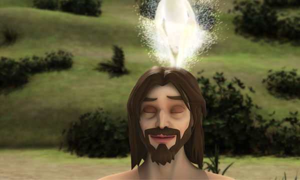 Duhul Sfânt ca un porumbel