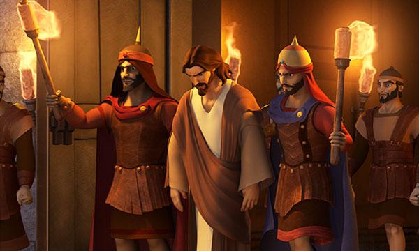 Jesus To Praetorium