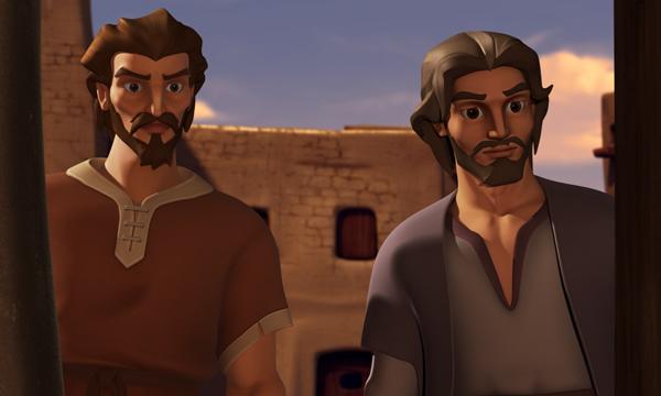 La Última Cena - Juan y Pedro