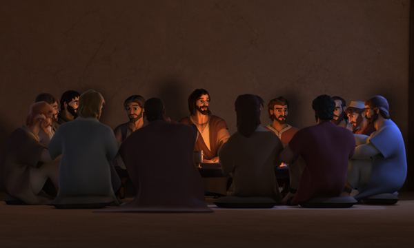 The Last Supper - The Upper Room