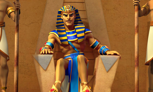 Entering Pharaoh's Court