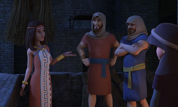 Spies Promise Rahab
