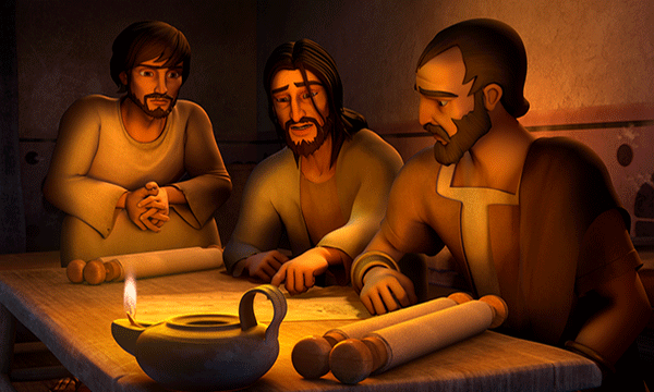 Paul, Silas and Timothy Discuss
