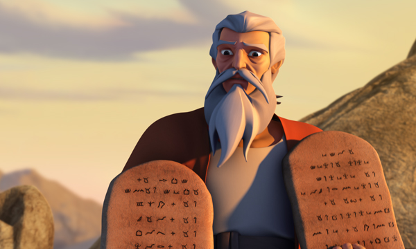 The Ten Commandments - Moses and the Commandments