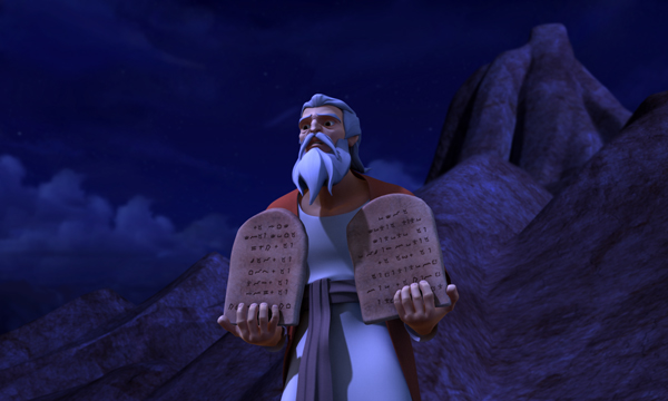 The Ten Commandments - Moses and the Tablets
