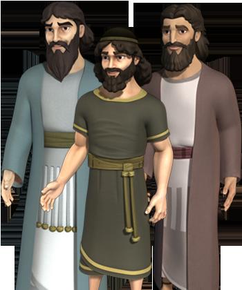 Сим, Хам, Иафет