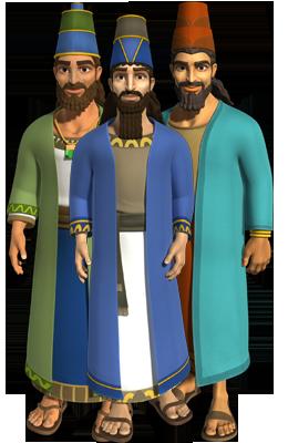 Şadrac, Meşac şi Abed-Nego