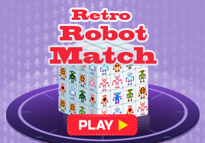 Retro Robot Match
