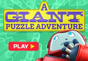 Приключение с гигантской головоломкой