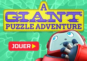 Une aventure avec un puzzle géant
