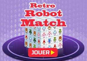 Trouve la paire Robot Rétro