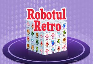 Cub 3D Robotul Retro