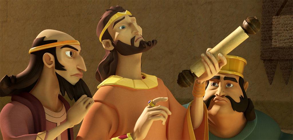 La historia de Daniel - Asesores del Rey Darío