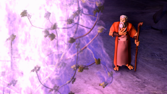 Moses and the Burning Bush Part 2