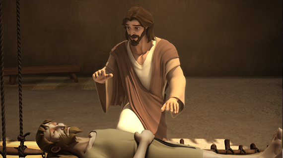 Jesus Heals the Paralytic
