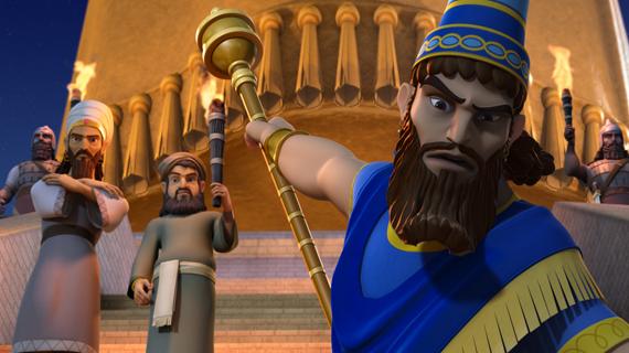 نبوخذنصر يغضب غضبًا شديدًا