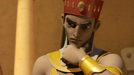 Pharaoh 'You will be in charge.'