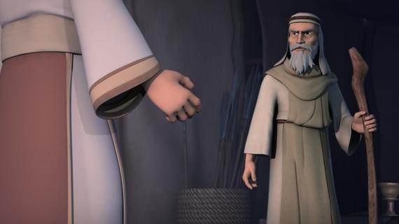 Samuel îl mustră pe împăratul Saul
