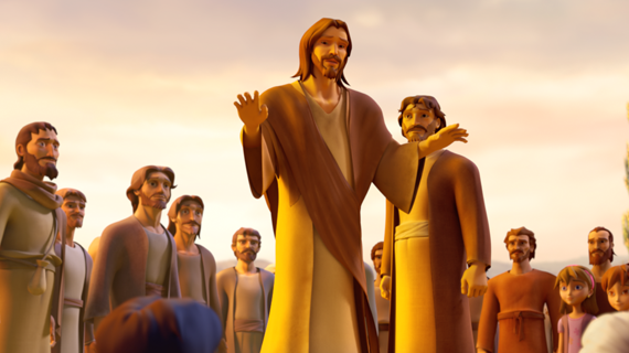 The Disciples Return to Jesus