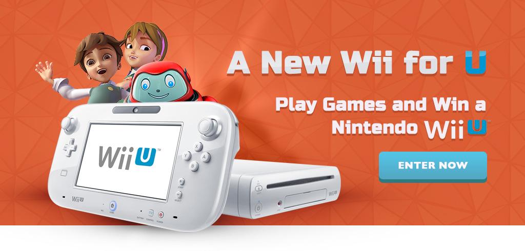 Win a Nintendo Wii U!