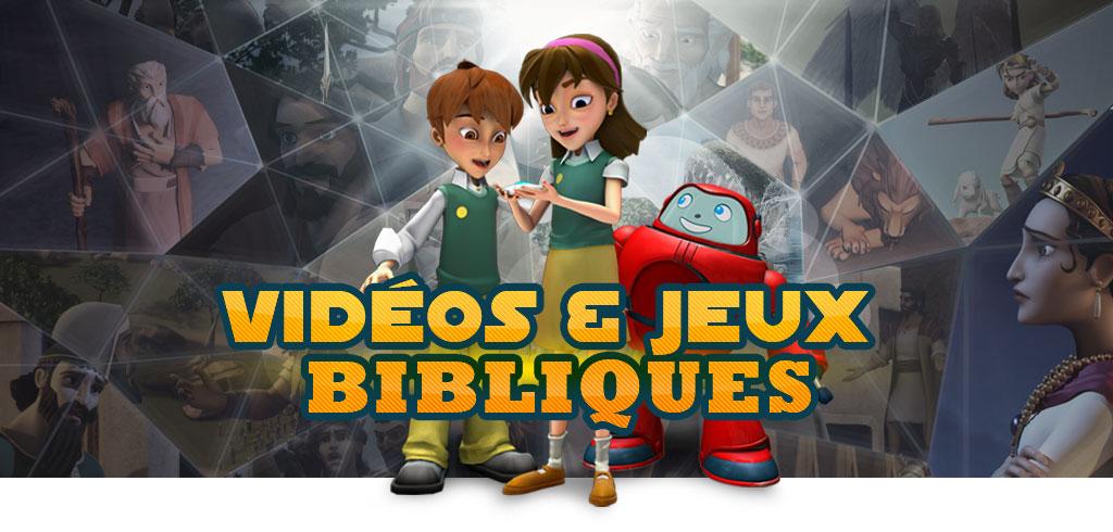 Vidéos et jeux bibliques