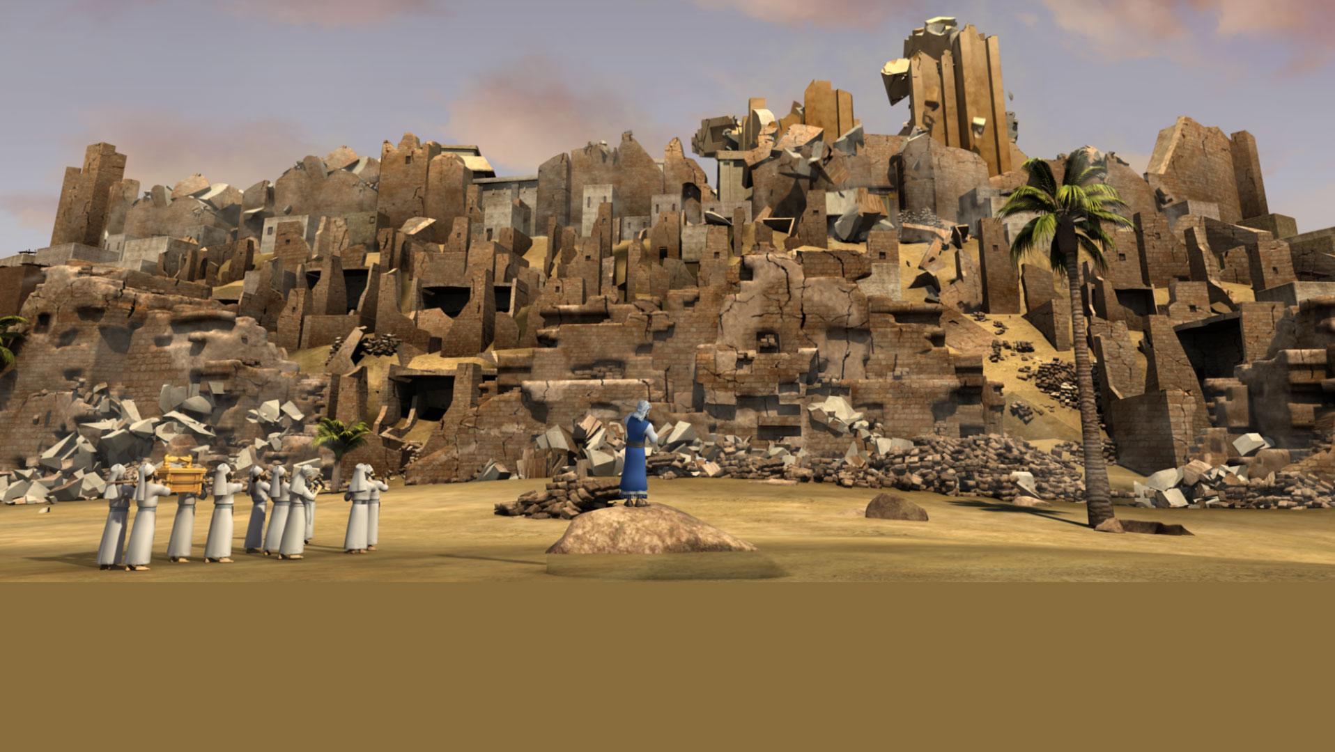 <h2>Раав и стены Иерихона</h2>