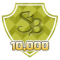 Earned 10,000 SuperPoints
