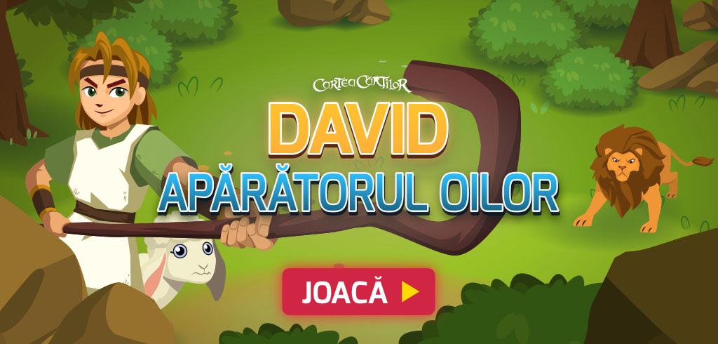 David, apărătorul oilor